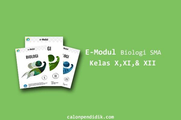 Download E-Modul Biologi SMA